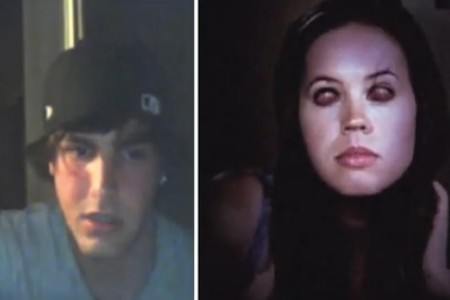 The Last Exorcism's Promotion On Chatroulette Freaks Out Horny Guys