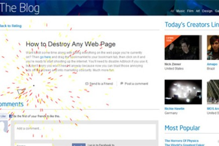 How to Blast Apart Any Web Page