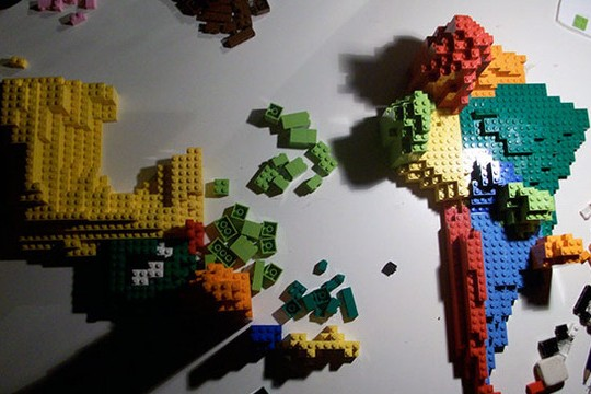 Blocking Your View: Data Visualization With Legos