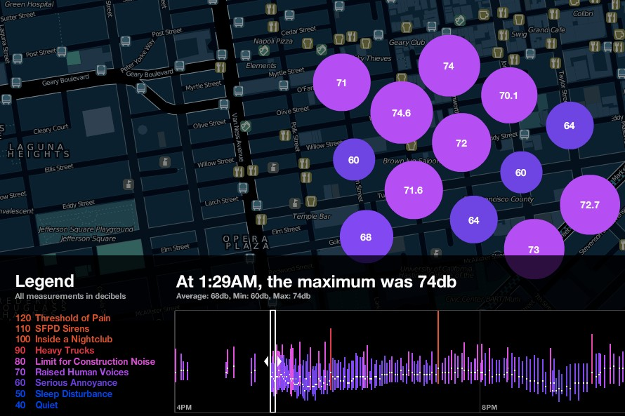 No More Noise Complaints? TenderNoise Measures City Noise Pollution