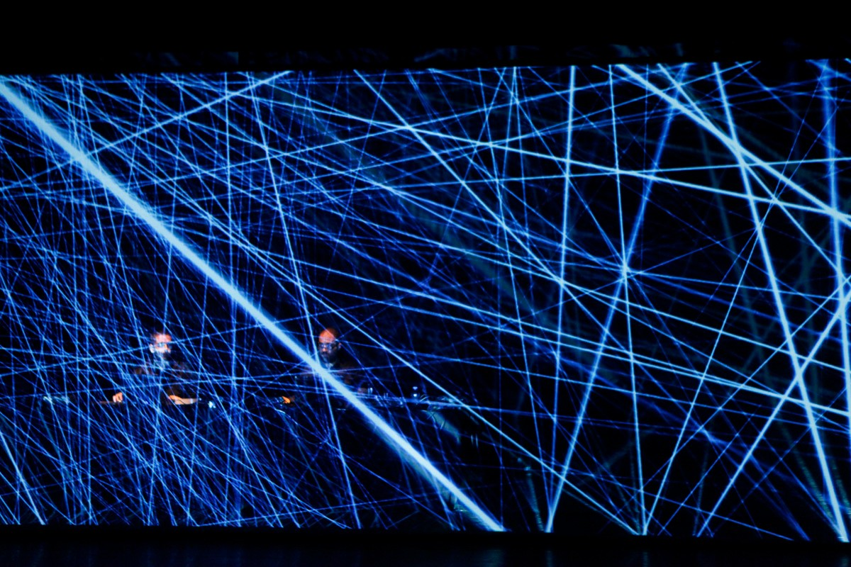 Murcof And AntiVJ Weave Blue Spider Webs Of Audiovisual Magic