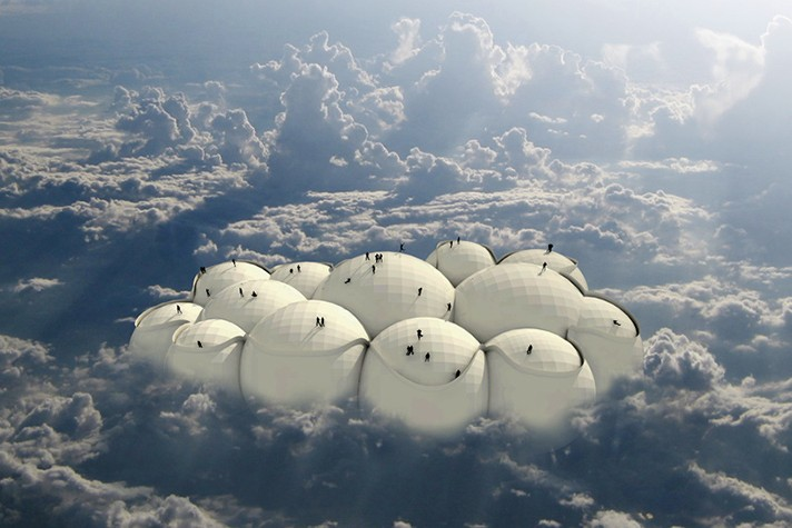 Design Concept Would Have You Travel The World On A Floating Cloud