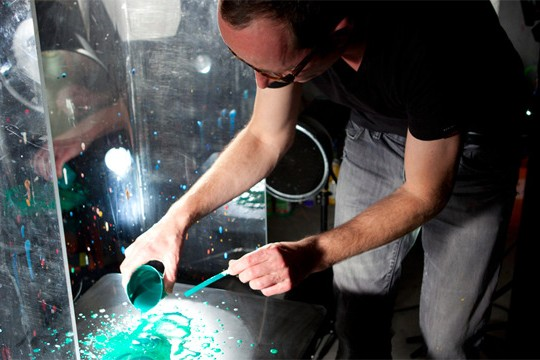 Photographer Martin Klimas Paints Like Pollock With Sound
