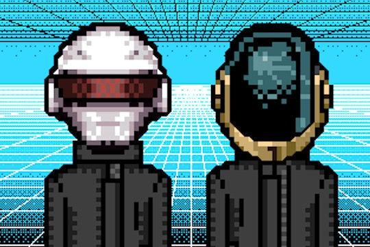 Chiptune Renditions Of All Things Daft Punk
