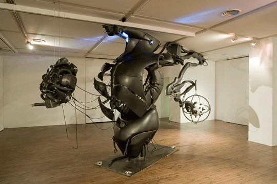 Blurring The Line Between Man And Machine Through Sculpture