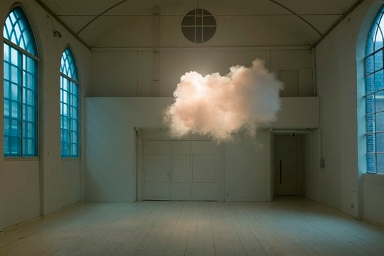 Manmade Clouds Become (Very) Ephemeral Sculptures