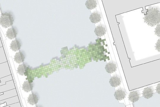 Minecraft IRL: Cool Concept Drawings For A Pixelated Bridge