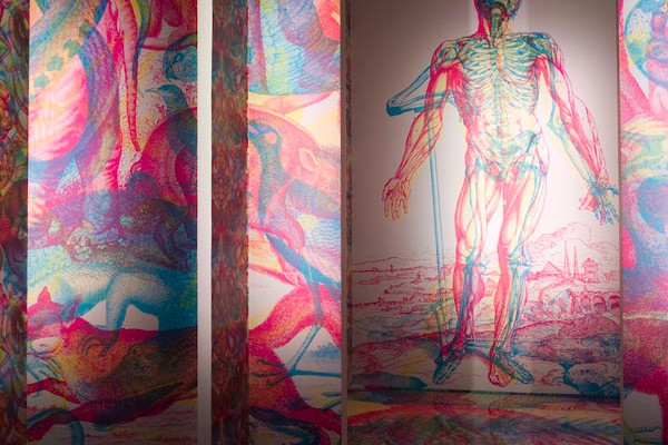 RGB Murals Use Colored Light Filters To Create Beautiful Optical Illusions