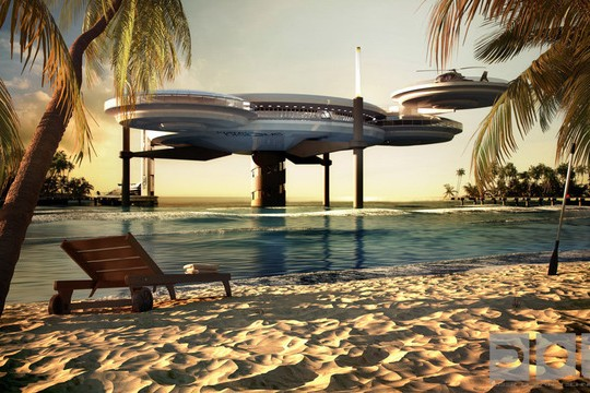 Underwater Hotel To Be Built in Dubai