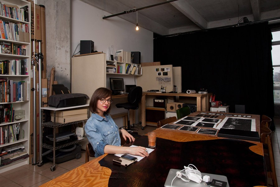 Space Invaders: Inside Melissa F. Clarke's Brooklyn Studio