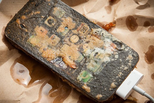 Technology Gets A Battering In Deep Fried Gadgets