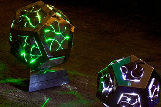 Explore The Infinite With Stone Orbs of Oozing Light