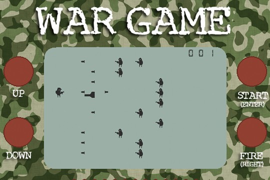 War Game Revisits The Handheld LCD Games Of Your Youth