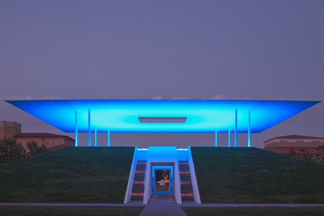 James Turrell's Skyspace Radiates Color And Transforms The Sky