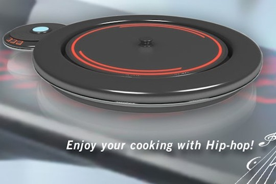 DJ Cooker Merges The Arts Of Mixing And Cooking In One Device