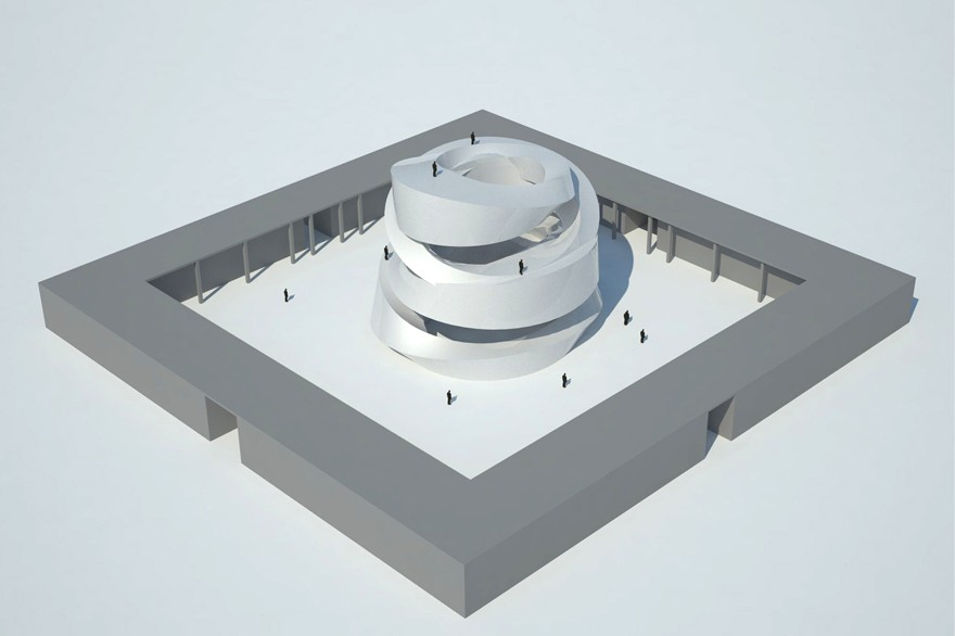 The Mobius Strip Gives Form To A Buddhist Temple In Shanghai [Q&A With Designer Wang Qing]