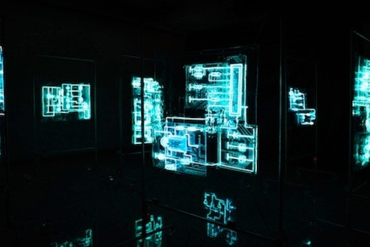 Electronic Circuitry Gets A TRON-Style Makeover In Mabonona's Maze