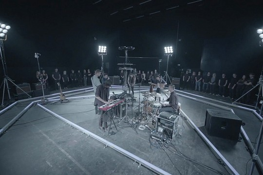 The Maccabees Perform Live Filmed By 10 Kinect Cameras In This Experimental Music Session