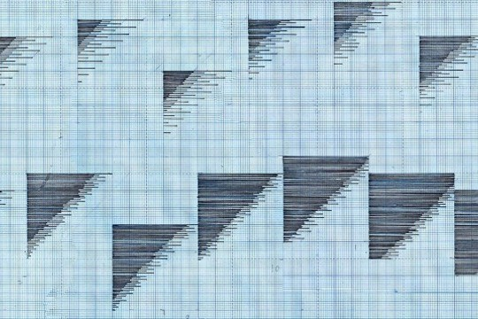 Alma Alloro's GIFs Are Intricate Graph Paper Doodles Come To Life