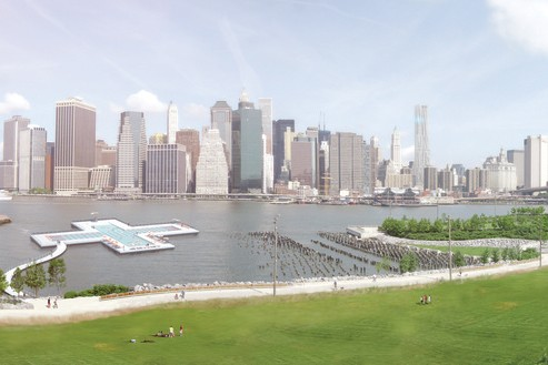 Plus Pool Is A Floating Swimming Pool That Cleans New York's Rivers