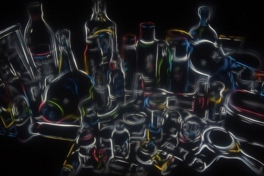 Acrylic Paintings Embedded With LEDs Ponder The Value Of Our Personal Possessions