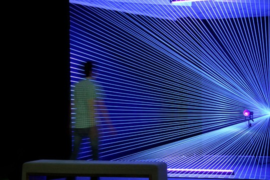 Get Trapped Inside Djeff's Mesmerizing Ultraviolet Light Web