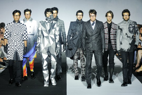 Traditional Suits Get A Futuristic, Geometric Makeover From Ichiro Suzuki