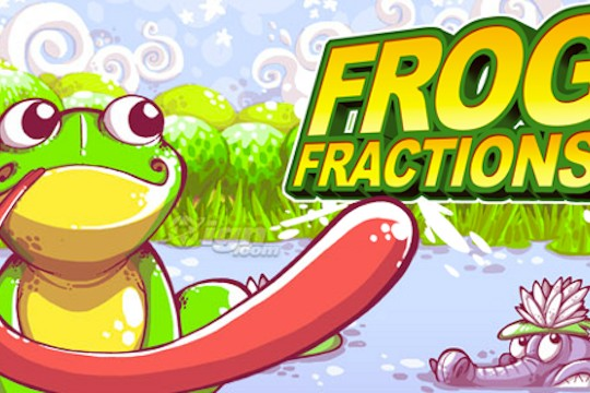 The Amazingly Engaging Frog Fractions: Play This Game Immediately!