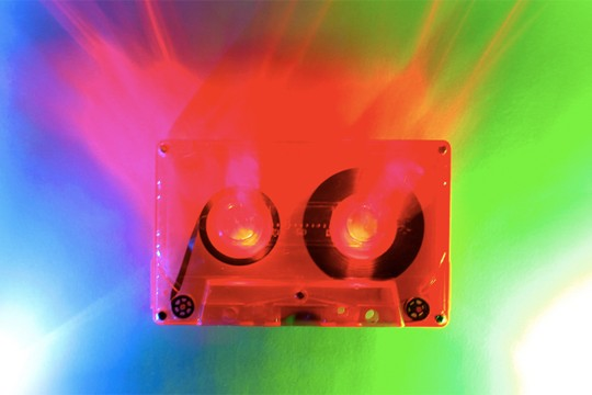 Cassette Tapes Get New Lease Of Life As Colorful Artworks