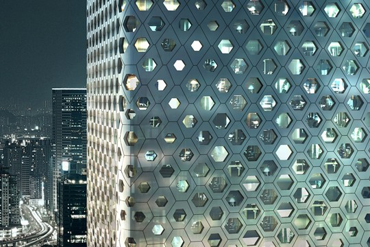 MAD Architects' Honeycomb Skyscraper