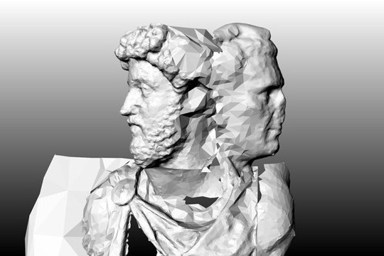 5 Roman Emperors Become One In This 3D Printed Sculptural Mashup