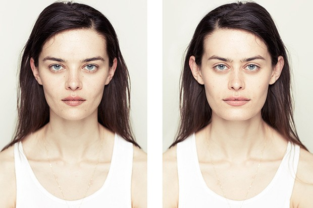 Photo Series Constructs Symmetrical Faces To Test Traditional Notions Of Beauty