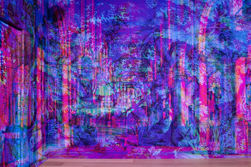 Carnovsky's Red-Green-Blue Landscapes Provide Psychedelic Eye Candy At Milan Design Week