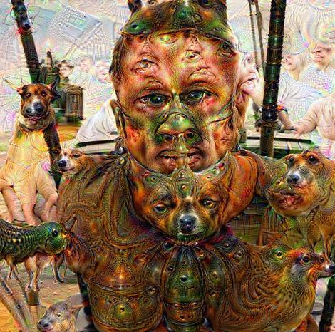Google Algorithm Art Google's Psychedelic ai Art