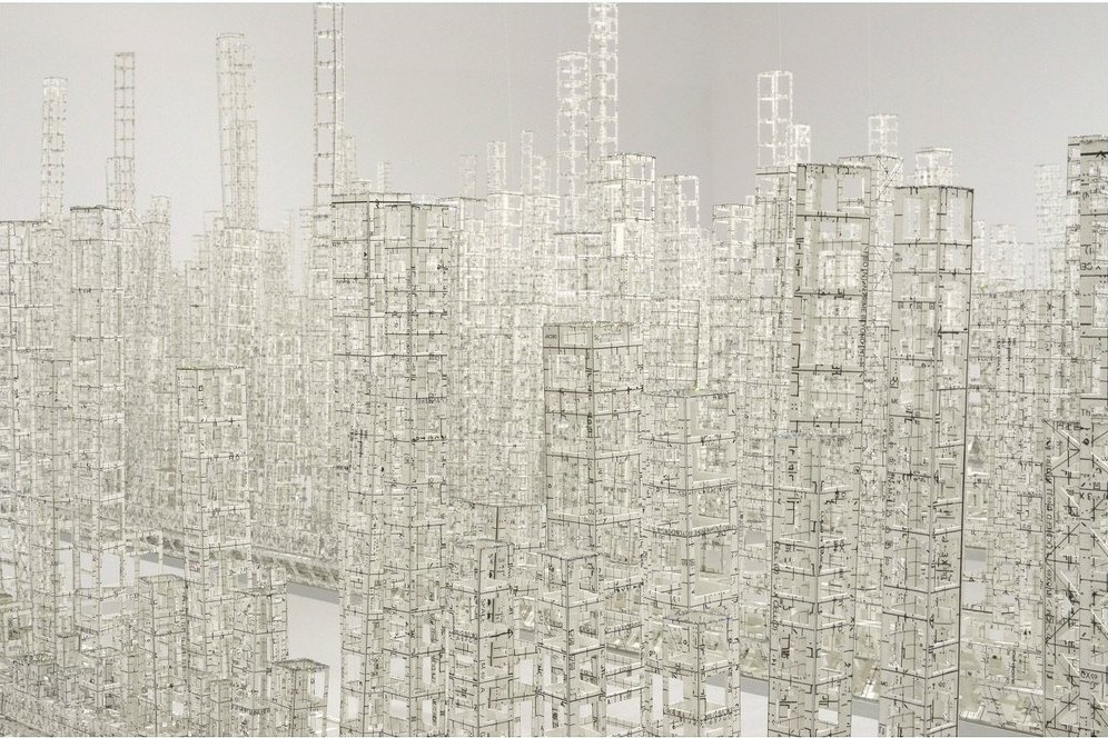 Paper Metropolis Delicately Explores Urban Density