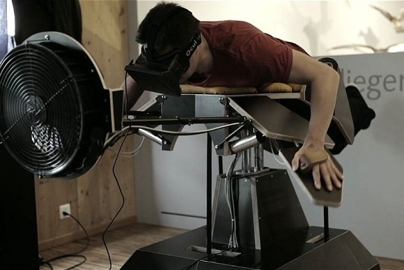 """Birdly"" Augmented Reality Machine Lets You Fly Like A Bird"