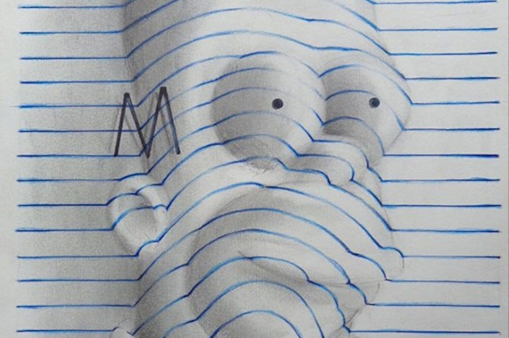 Teenage Artist Warps Notebook Paper into 3D Drawings | The ...