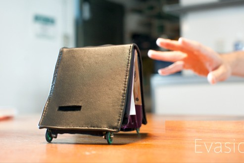 The Living Wallet Will Force You To Save By Literally Running Away From You