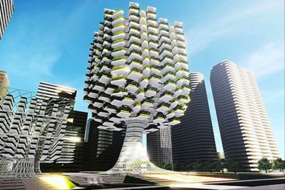 Proposed high rise farm would build gardens in the sky Architecture perse