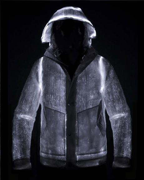Light Up The Night With Your Own LED Powered Jacket