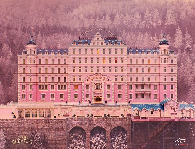 Grand Budapest Hotel Wallpaper: Here's How Wes Anderson Uses Matte Paintings In His