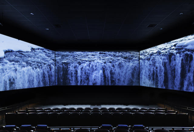 Better than 3D? Inside the Three-Screen Cinema