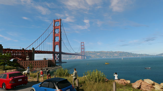 How To Get Up Golden Gate Bridge Watch Dogs