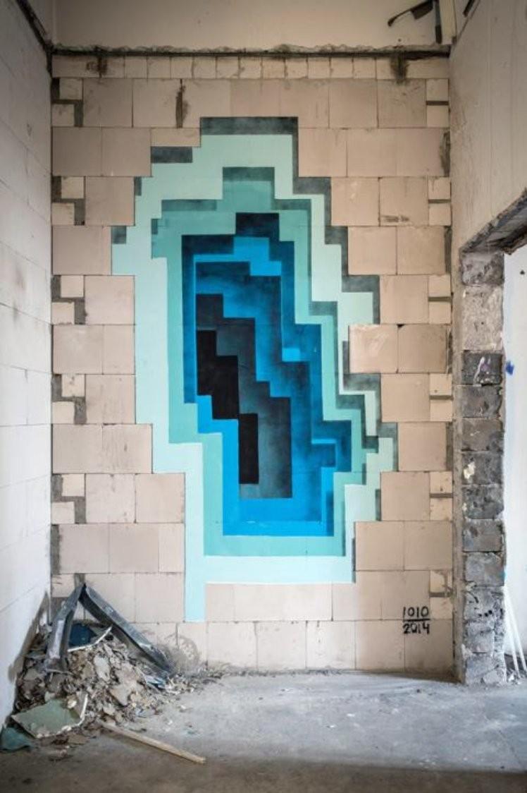 Wall Grafiti!!! - Lessons - Tes Teach for Street Wall Art Illusions  588gtk