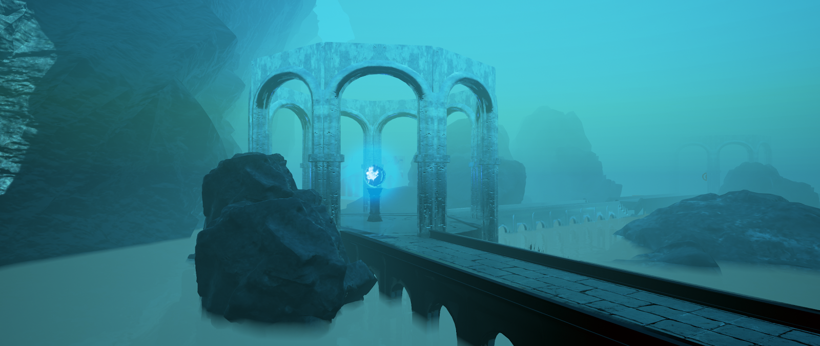 A Hybrid Video Game/Music Video Dives Inside an Underwater Alien World