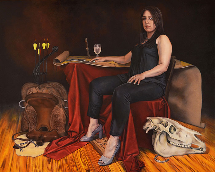 Queer Femme Fatales Redefine Traditional Portraiture | City of the Seekers