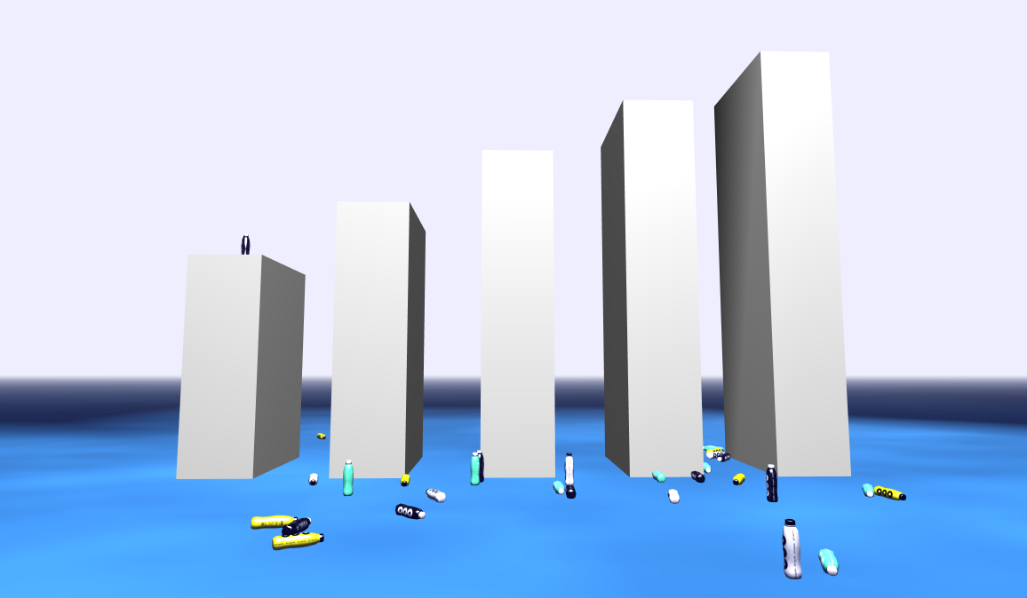 Here It Is, the Addicting Vaporwave Bottle Flipping Game We've Always Wanted