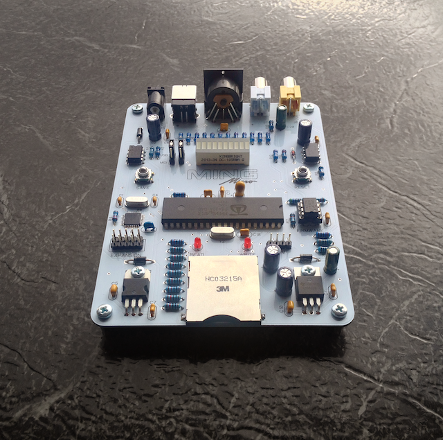 Meet Ming Micro, the Portable 8-Bit Video and Audio Synthesizer
