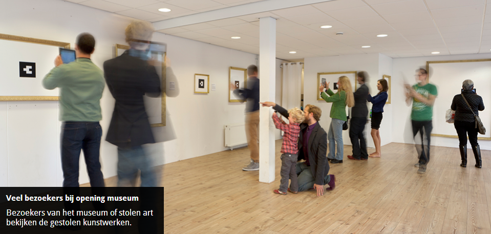 This Museum Displays Stolen Artworks in Augmented Reality | The Creators Project