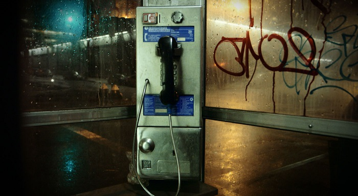 New York's Last Phone Booth Bids a Defiant Adieu
